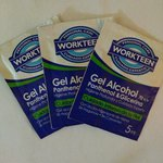 Alcohol gel en sachets (3)